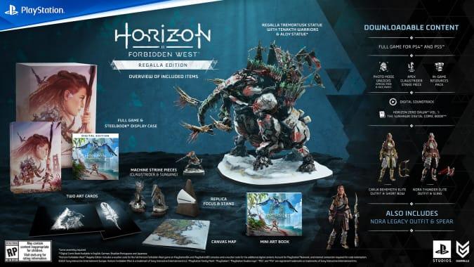 Horizon Forbidden West Regalla edition