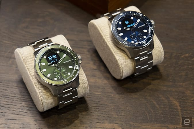 Withings puts its heart-monitoring ScanWatch in the body of a diver's watch