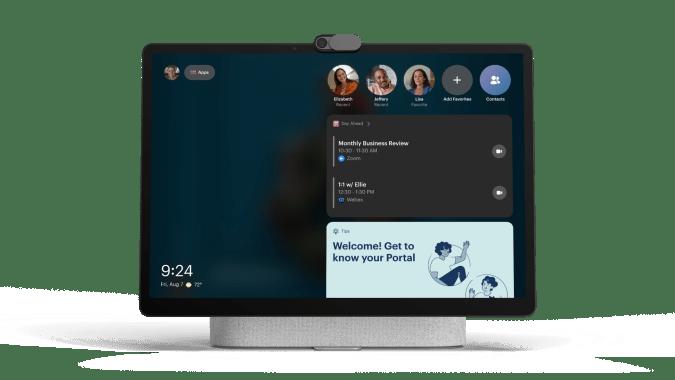 Portal + home screen