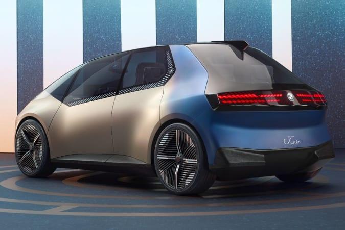 BMW's 'recyclable' i Vision Circular Concept EV has a weird crystal interface
