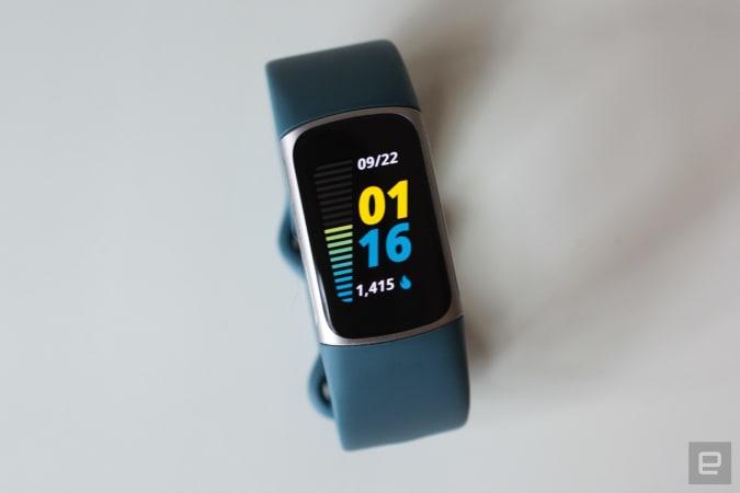 Rastreador de fitness Fitbit Charge 5