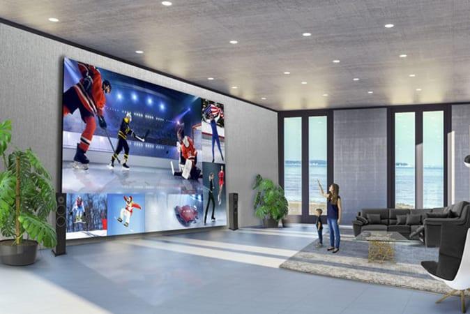 Image of LG's DirectView mega-TV
