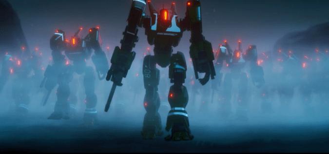 Stark Industries' robot army