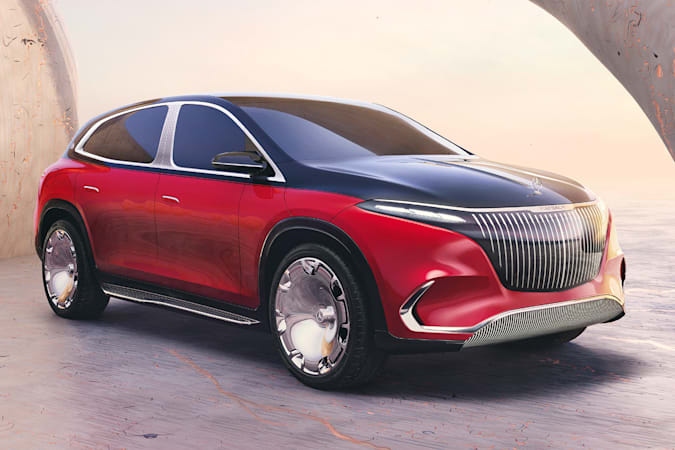 Mercedes-Maybach Concept EQS electric SUV