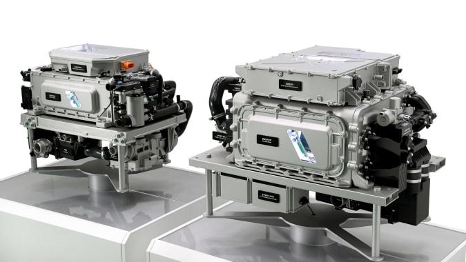 O 'Hydrogen Vision 2040' da Hyundai inclui drones de reboque e um supercarro de célula de combustível