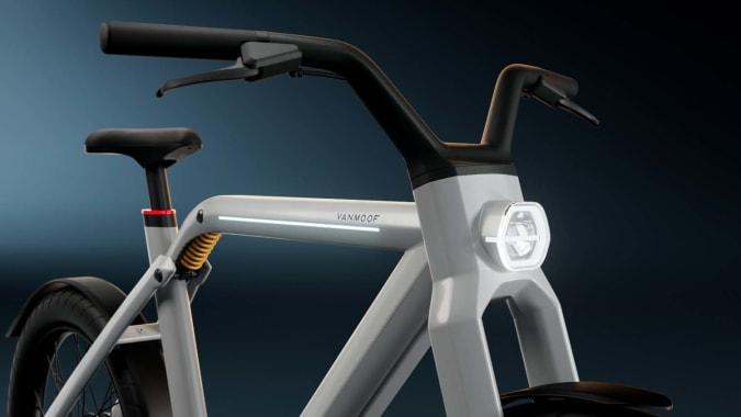 Render of the VanMoof V e-bike