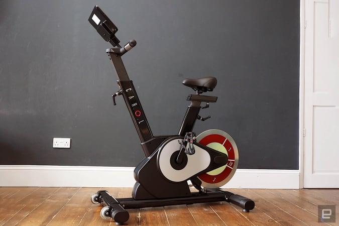 Image of the CAROL REHIIT Smart Bike.