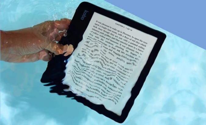 O novo e-leitor Sage de US $ 260 da Kobo permite que você faça anotações eletrônicas