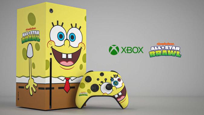 Xbox One X Spongebob