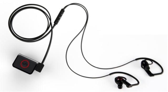 LG  Heart Rate Monitor Earphones
