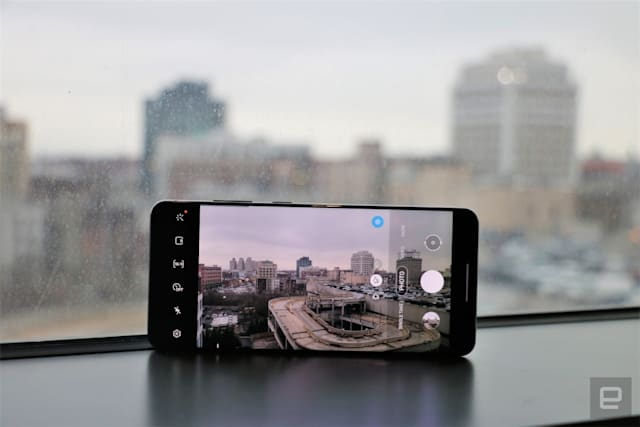 Galaxy S20 Ultra camera viewfinder