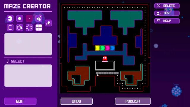 Pac-Man Live Studio - Maze Creator