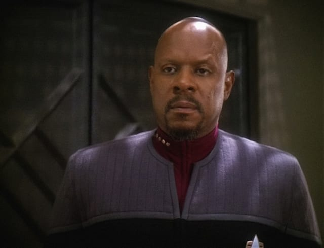 Pictured: Avery Brooks as Commander Sisko in STAR TREK: DEEP SPACE NINE