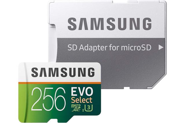 Samsung Select EVO microSD card
