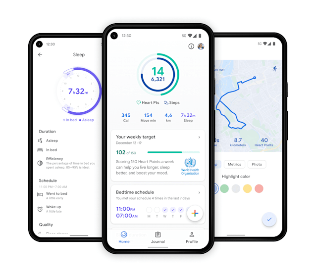 Google revamps Fit and adds three tiles to Wear OS