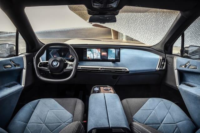 BMW iX EV interior