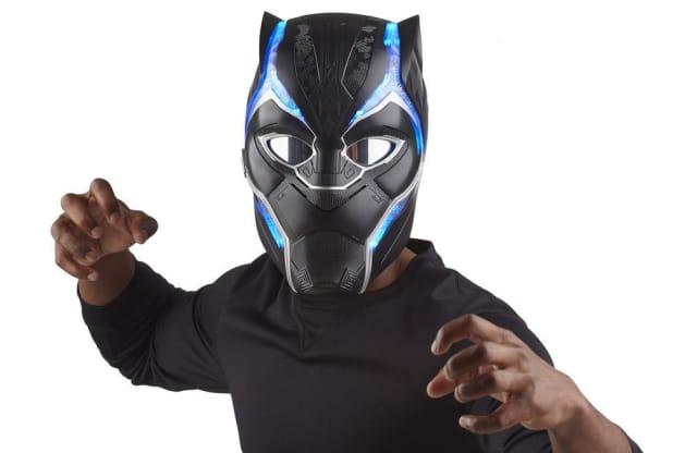 Marvel Legends Black Panther Electronic Helmet