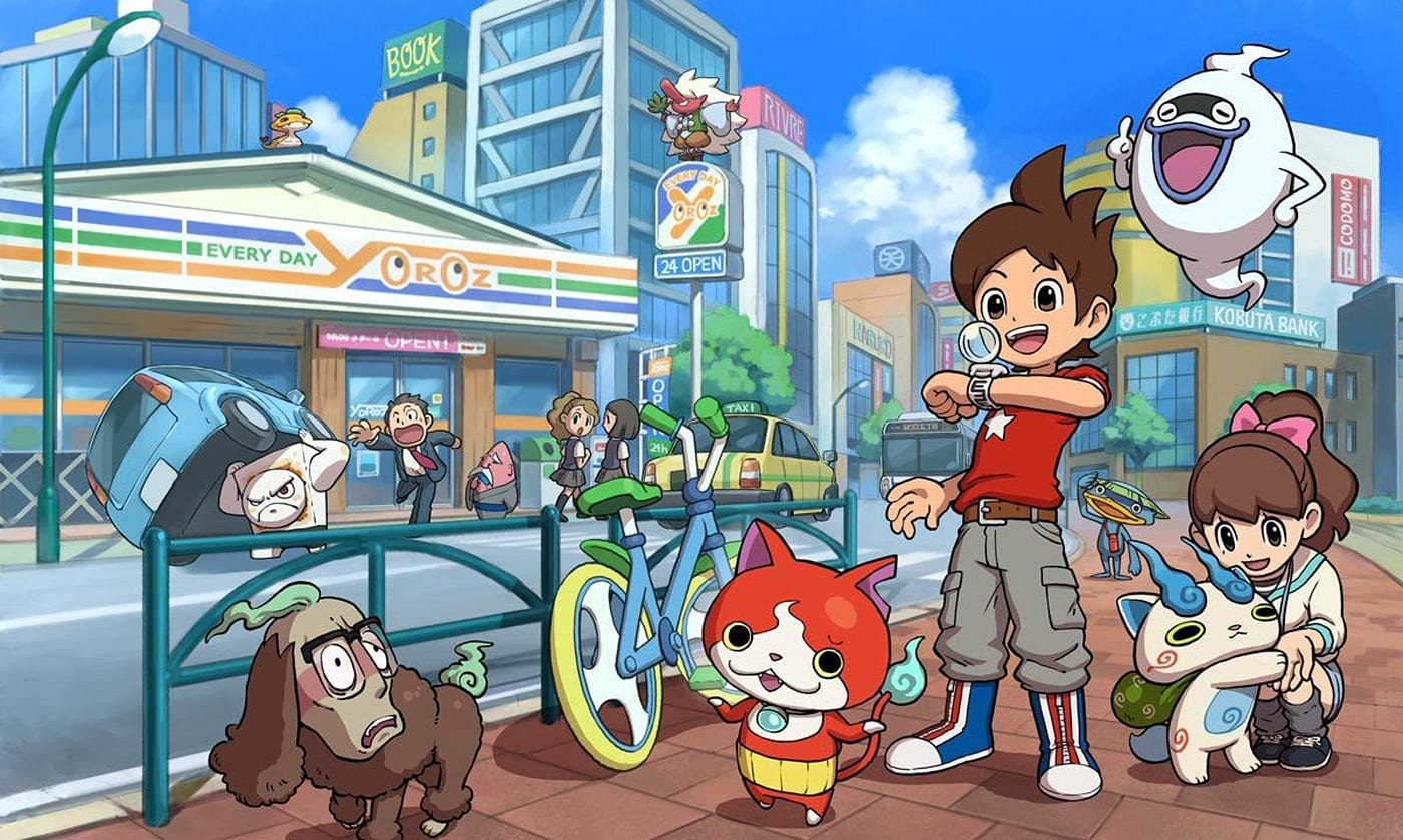 yo kai watch 2 invades the us this september