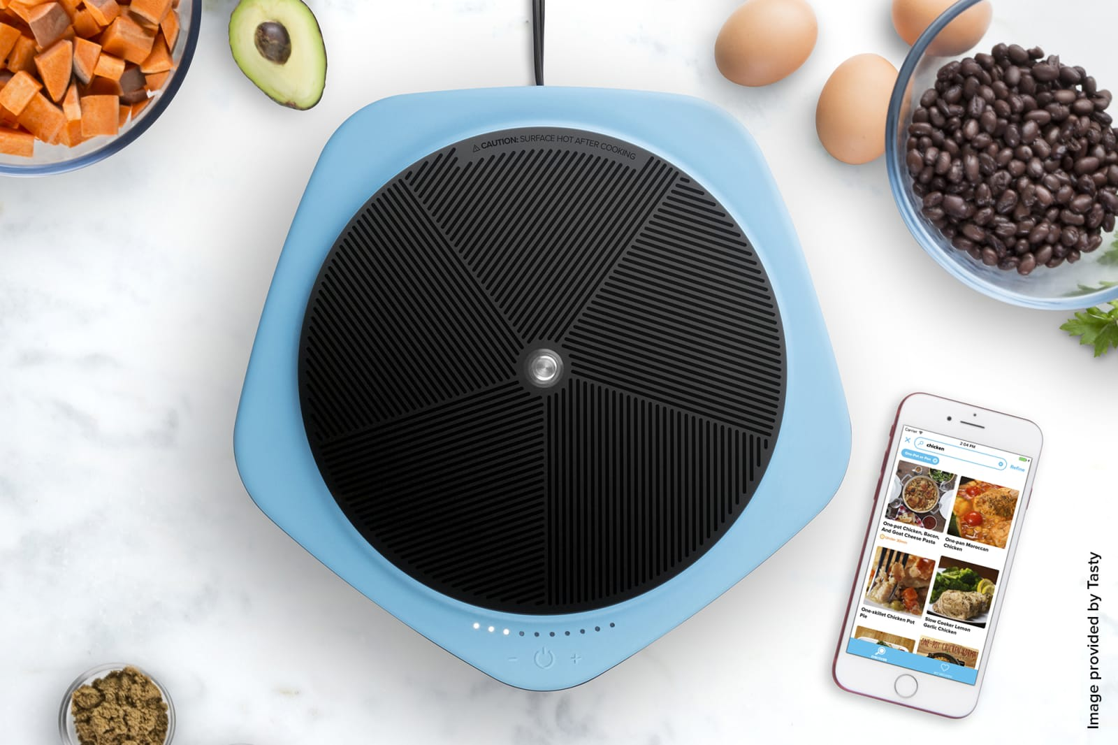 Viral cooking videos control buzzfeeds 150 bluetooth hot plate buzzfeed tasty forumfinder Image collections