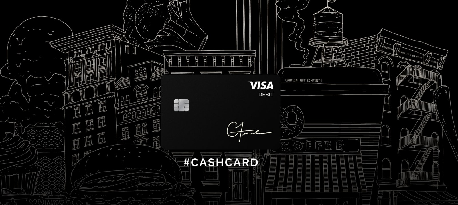 square - Prepaid Black Card
