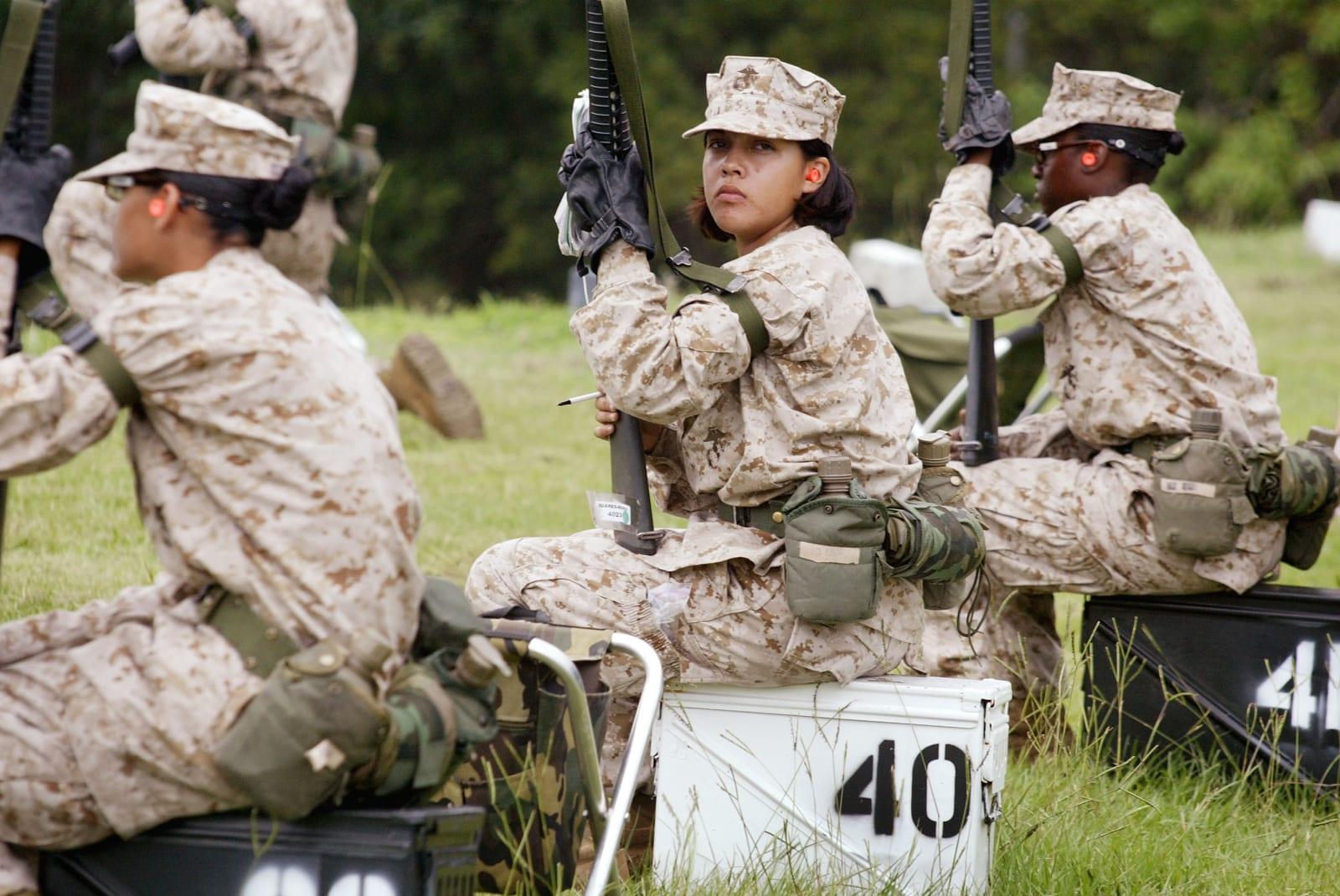 Nude topless female soldiers defi boyfriend