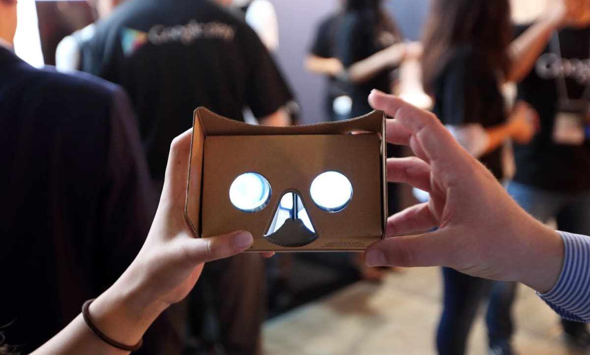 Ny Times Launches Vr App With Google Cardboard Giveaway