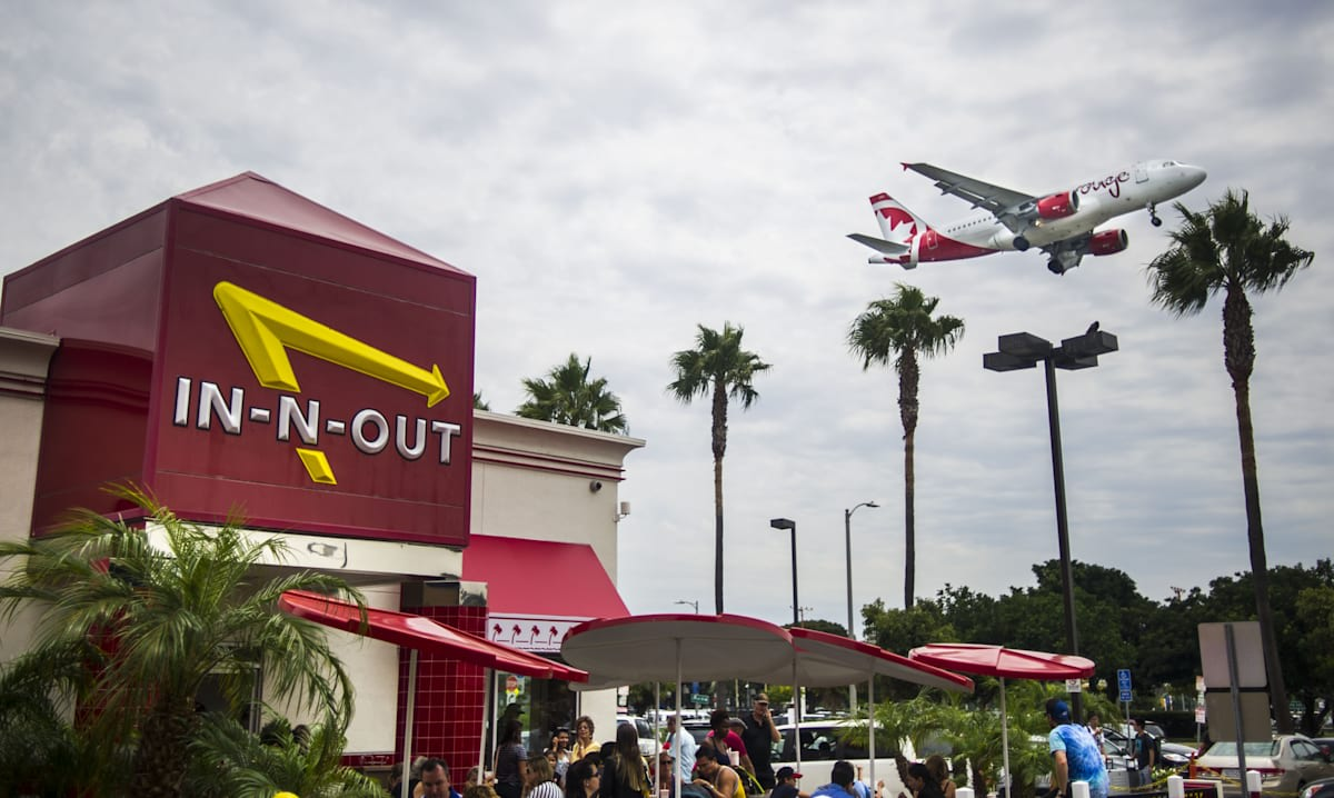 In-N-Out Burger sues food delivery service DoorDash