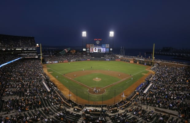 San francisco giants and most of mlb adopt apples ibeacon for image credit malvernweather Gallery
