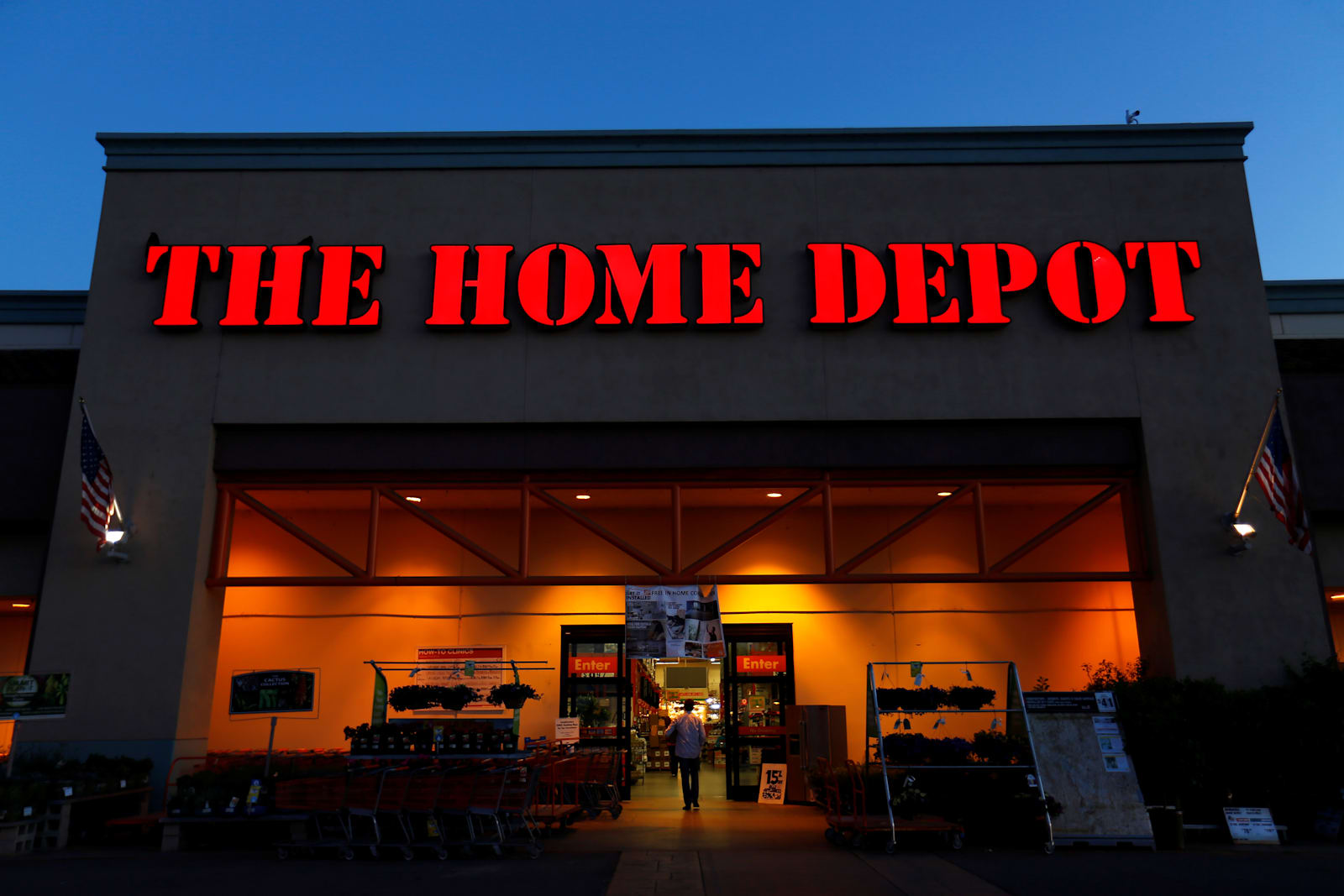 Official website for home depot - Mike Blake Reuters