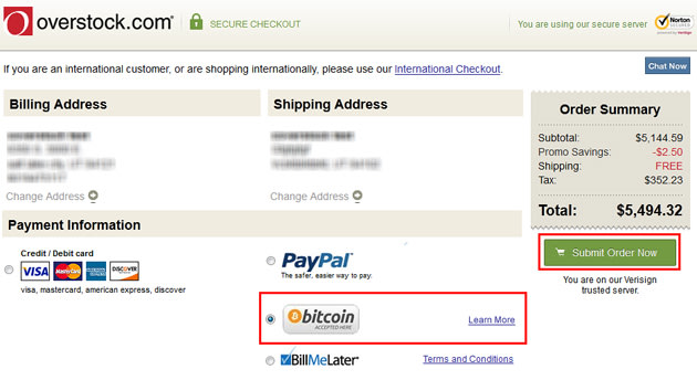 Bitcoin Online Payment