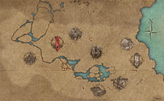 Zenimax publishes elder scrolls online interactive map mmo maps are pretty cool no heck maps in general tickle my fancy and theres a new interactive one on the elder scrolls online website thats worth gumiabroncs Gallery