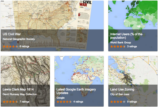 Googles new web gallery helps you find public map data image credit gumiabroncs Choice Image