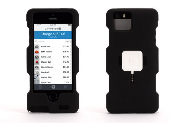 Griffin launches iphone 5 case for merchants who use square card readers need a durable way to carry that square card reader while youre raking in those small business bucks griffin has a case for that reheart Choice Image