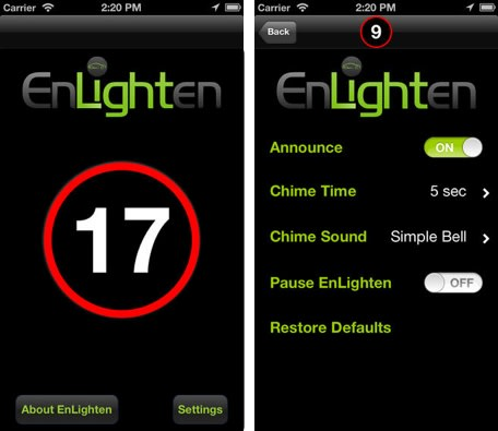 Enlighten tells you when your traffic light is going to change for App that tells you what is in a picture