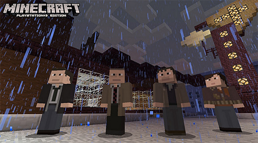 Minecraft PS Update Adds Blocky Skins From Uncharted Heavy Rain More - Skins fur minecraft ps3