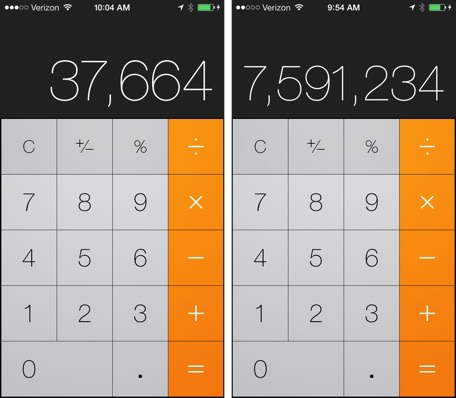 Use your iPhone to impress your friends with these cool calculator ...