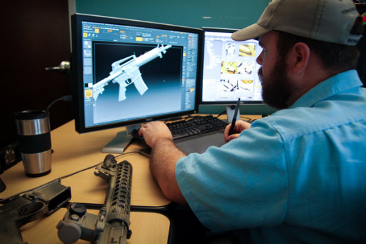 The division shoots for realistic weapons from tom clancy - Div games studio ...