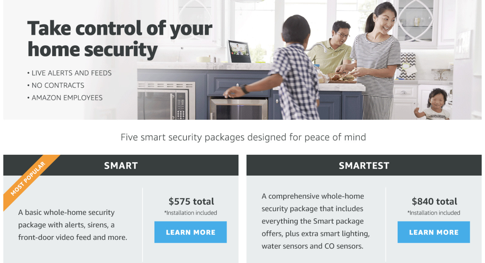Amazon will install a full smart home security system for you ...