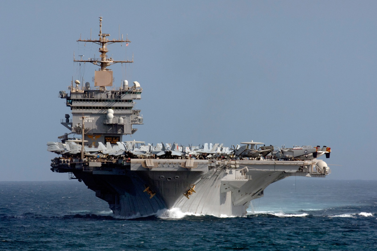 Conventionally Powered Aircraft Carrier