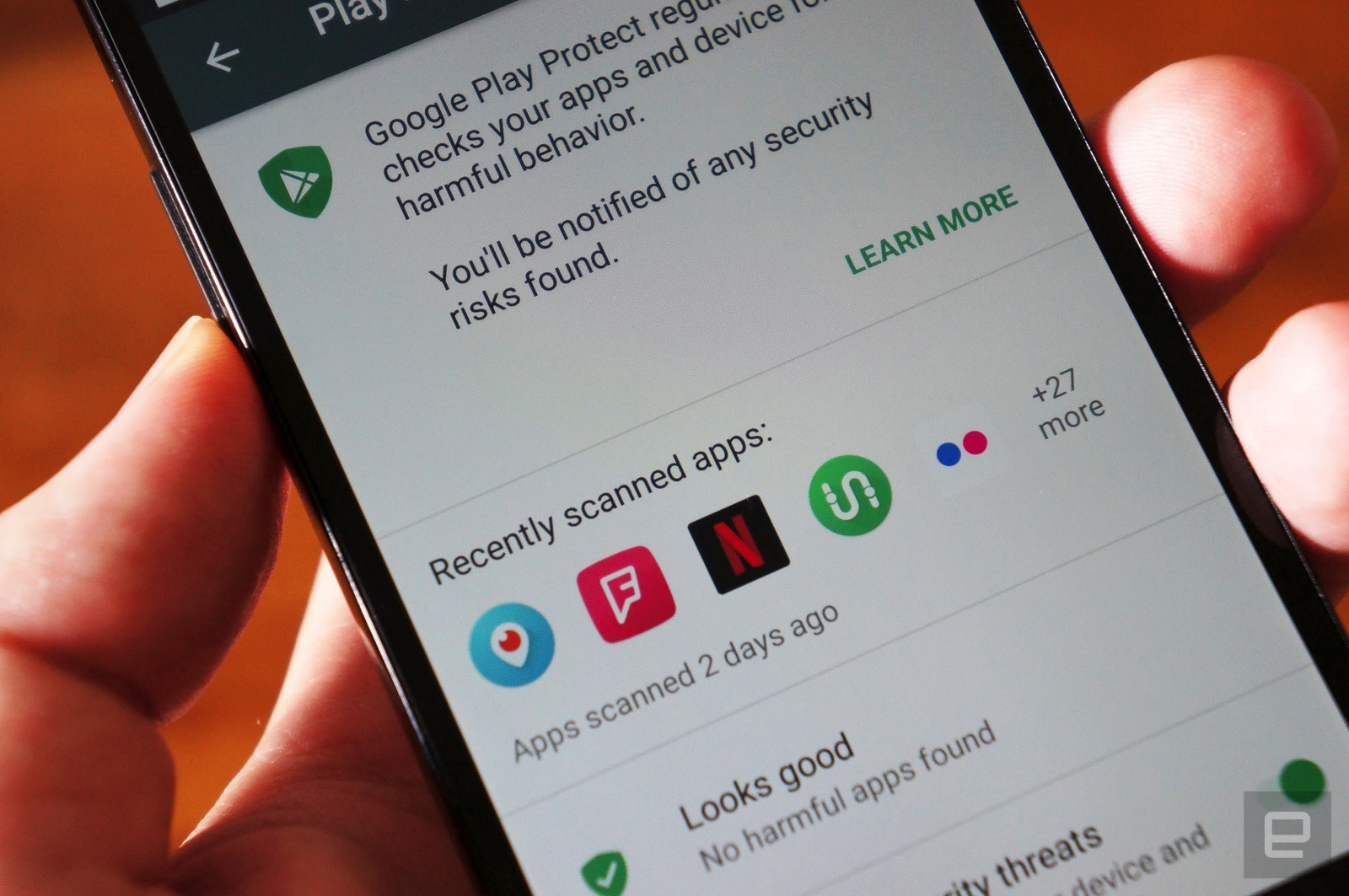 Google's safeguard against rogue Android apps is now available