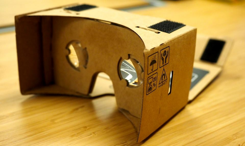 Googles Road To Virtual Reality Begins With Cardboard