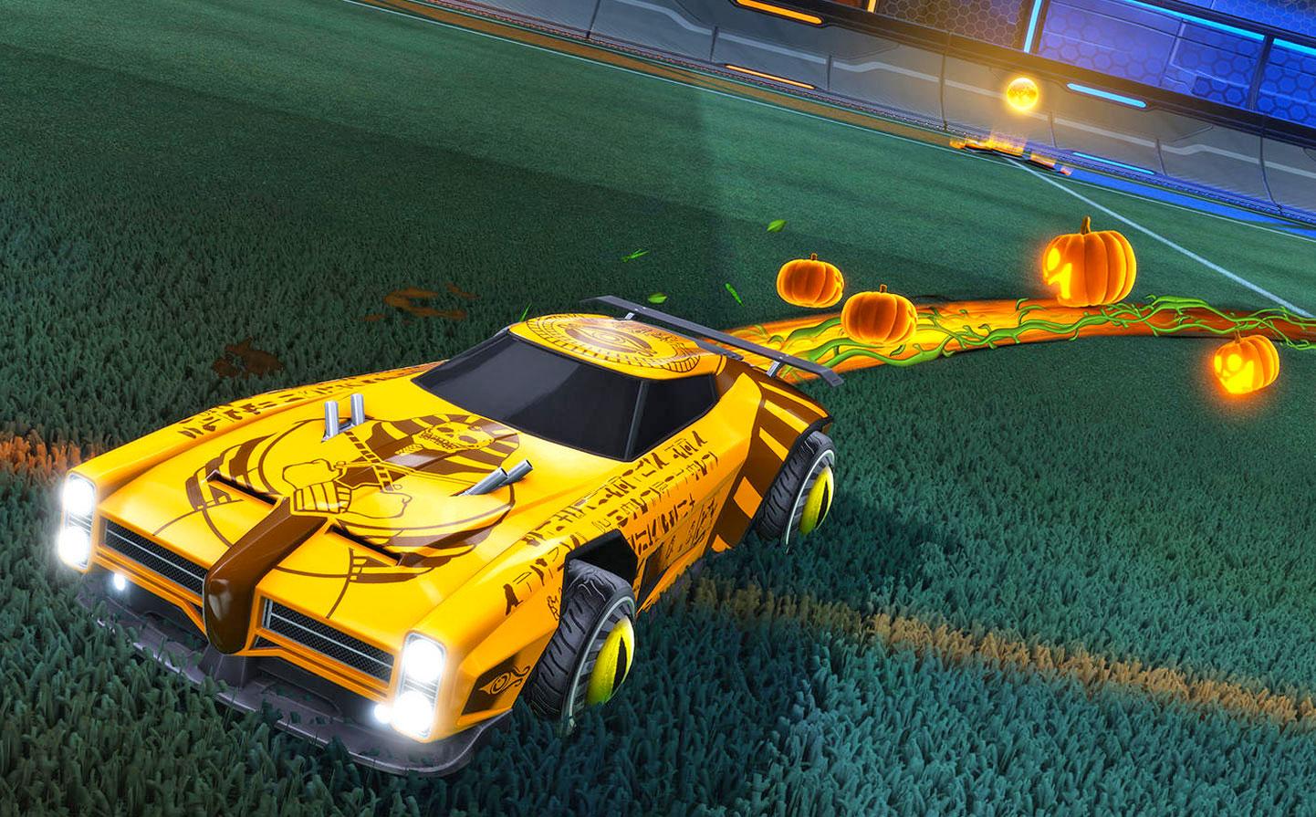First 'Rocket League' Halloween event kicks off October 16th
