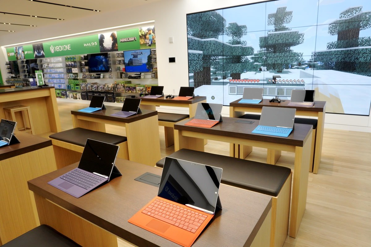 Take A Tour Of Microsoft S New Fifth Avenue Flagship Store