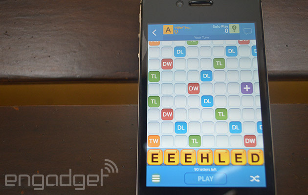 how to play words with friends on ipad