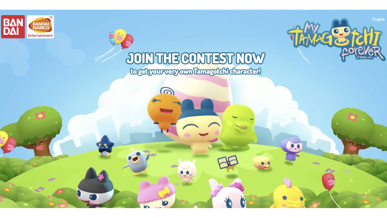 My tamagotchi forever app arrives on march 15th tamagotchi geenschuldenfo Choice Image