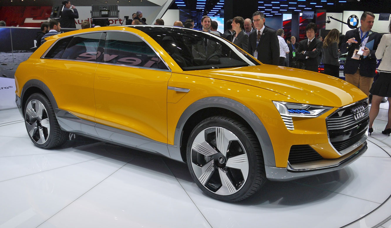 Audi Is Trying To Beat Tesla At Its Own Game - Audi electric cars