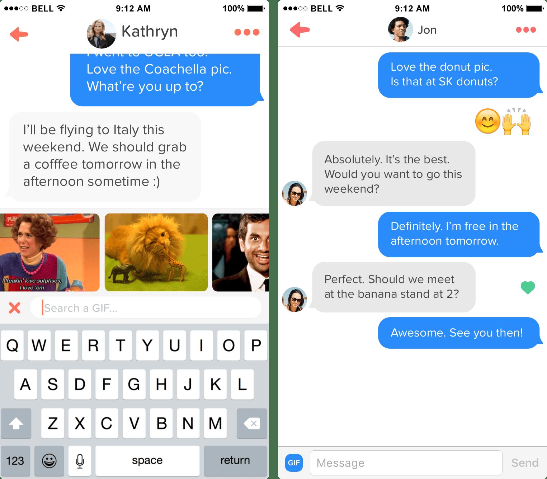 Mejores conversaciones tinder dating 1