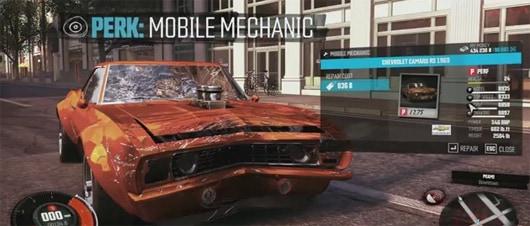 The crew 39 s latest vid talks mobile mechanics customization for Nomenclature icpe garage automobile