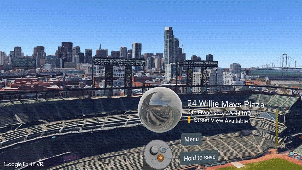 Google Earth VR Gets New Street View Images - Google earth street view