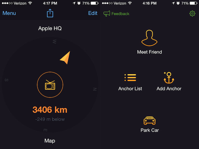 Anchor pointer is a great app for finding your car or that for Fishing spots near me app